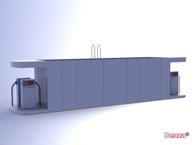 Mobile Petrol Station Container
